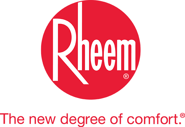 Rheem the new degree of comfort